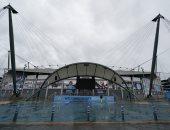 عاصفة كيارا تغلق بوابات ملاعب أوروبا أمام الجماهير.. فيديو وصور