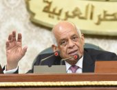 """صور.. رئيس النواب مازحا مع أحد النواب:""""الوزير معندوش إلا آثار هتطلب إيه"""""""