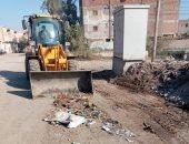 محافظة قنا: رفع 334 طن مخلفات وتراكمات قمامة فى 6 مدن بالمحافظة