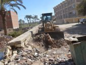 محافظة الفيوم: رفع 4 آلاف طن قمامة ومخلفات بناء وإزالة 644 حالة إشغالات