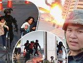 صور وفيديو.. تفاصيل 24 ساعة رعب فى تايلاند.. مقتل 21 شخصًا وإصابة العشرات فى إطلاق نار.. جندى يهرب بسلاحه ويطلق النار عشوائيًا على المدنيين.. المسلح يختبئ بمركز تجارى.. والكوماندوز يتدخل ويعلن تصفيته