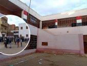 صور.. أول صور لمدرسة الطفل مصطفى ضحية الإهمال بالشرقية.. بدون سور