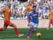 نابولي يخسر بثلاثية ضد ليتشي فى الدوري الإيطالي.. فيديو