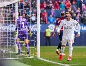 """ريال مدريد ضد سلتا فيجو.. راموس يضيف الثاني للملكي من ركلة جزاء """"فيديو"""""""