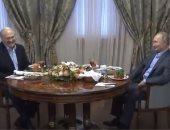 الرئيس الروسى يقدم العصيدة لنظيره البيلاروسى فى غداء عمل.. فيديو