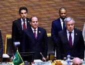الرئيس السيسى: لن نتوقف عن دعم جهود ومبادرات الاتحاد الأفريقى
