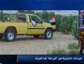 الزراعة: 55 مرصدا على الحدود المصرية للتبليغ عن أى أسراب للجراد