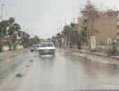 أمطار خفيفة على القاهرة والجيزة وانخفاض فى درجات الحرارة