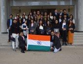 تدريب 22 طالبا هنديا بجامعة مصر للعلوم والتكنولوجيا على إنتاج المشروعات الإعلامية