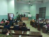 نائب رئيس جامعة بنها يطالب الطلاب بالمشاركة فى الأنشطة الطلابية فى الكليات