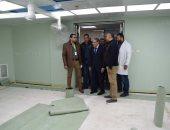 صور.. تطوير مستشفى التأمين الصحى بالمنيا لرفع كفاءة الخدمة الصحية المقدمة