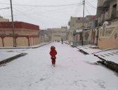 لأول مرة منذ 12 عاما.. سقوط الثلوج على محافظات العراق.. فيديو وصور