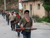 ميليشيا مسلحة من الأطفال لمواجهة مافيا المخدرات فى المكسيك