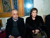 وزراء وسياسيون ونجوم الفن والإعلام فى عزاء الكاتب الراحل لينين الرملى