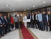 محافظ أسوان يلتقى بوفد الجمعية المصرية لشباب الأعمال.. اعرف التفاصيل