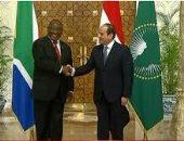 """كيف قدمت مصر هموم القارة السمراء إلى العالم؟.. دبلوماسية مكوكية وضعت قدما لأفريقيا بالقمم الدولية.. والقمة البريطانية """"مسك ختام"""".. وبوابة استثمارات جادة فى الدول الأفريقية"""