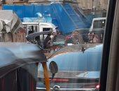 شكوى من زحام شارع القومية بإمبابة بسبب السير عكس الاتجاه