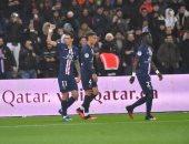 باريس سان جيرمان يدمر ليون برباعية فى الدوري الفرنسي.. فيديو