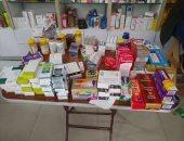 ضبط مدير مخزن أدوية بحوزته 45 ألف قرص مختلفة الأنواع مجهولة المصدر بالبساتين