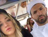شاهد أجويرو يخطف الأنظار بالزى الخليجى على أنغام عربية