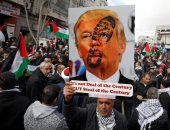 اشتباكات عنيفة خلال مظاهرات ضد خطة السلام الأمريكية فى الضفة الغربية