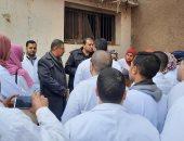 جامعة بنها تنظم قافلة بيطرية لقرية العمار بمركز طوخ