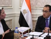 رئيس الوزراء يلتقى وزيرة البيئة لاستعراض الموقف البيئى لبحيرتى مريوط وقارون