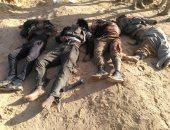 خاص.. أول صور للعناصر الإرهابية بعد القضاء عليها بشمال سيناء