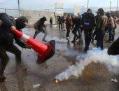 انحسار أعداد المتظاهرين بمحيط البرلمان اللبنانى.. و300 مصاب جراء المواجهات