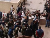 """بدء ثانى جلسات الاستئناف للمتهمين بقتل """"شهيد الشهامة"""" بمحكمة شبين الكوم"""