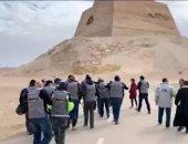 فيديو وصور .. نادى سكوتر القاهرة يزور بنى سويف بالدراجات للتعرف على معالمها السياحية