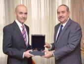 وزير الطيران المدنى يلتقى سفير دولة جورجيا بمصر