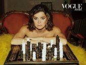 """3 شخصيات لامرأة واحدة.. حوار جلسة تصوير مختلفة ليسرا اللوزى مع مجلة """" فوج """""""