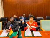 نميرة نجم: موسى فكى يوقع اتفاق المقر منطقة التجارة الأفريقية الحرة مع غانا