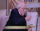 رشوان توفيق: التمثيل زمان مكنش بالوسامة.. وعادل إمام موهوب من يومه