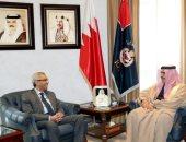 وزير الداخلية البحرينى يشيد بمستوى العلاقات الوطيدة مع مصر