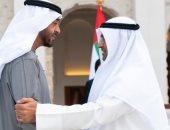 ولي عهد أبو ظبى يستقبل أمين عام مجلس التعاون