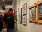 """150 فنانا تشكيليا بمكتبة الإسكندرية يشاركون فى افتتاح معرض """"أجندة"""".. فيديو وصور"""