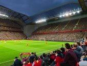 """ليفربول يهدف لزيادة سعة ملعب """"أنفيلد"""" لـ61 ألف متفرج"""