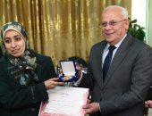 محافظ بورسعيد يستقبل وفد مركز المعلومات بمجلس الوزراء