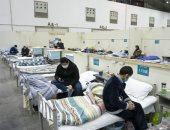 رعاية مكثفة بمستشفى ووهان المتخصصة لمصابى فيروس كورونا فى الصين