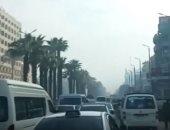 فيديو.. كثافات مرورية بطريق الكورنيش بالقاهرة صباح اليوم