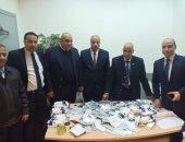 صور.. جمارك مطار القاهرة تحبط محاولة تهريب كمية من الأدوية البشرية