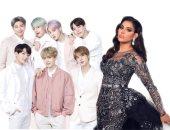 هل تتعاون أحلام مع الفرقة الكورية العالمية BTS ؟.. اعرف التفاصيل