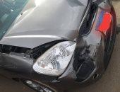 زوجة سليمان عيد تتعرض لحادث سير مع ابنتها.. والفنان يعلق: بخير الحمد لله