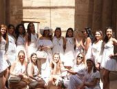 جميلات 80 دولة يتنافسن على ملكة جمال الكون بفندق أيكوتيل دهب (صور)