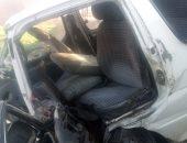 إصابة 3 أشخاص فى حادث تصادم توكتوك وميكروباص بأسيوط