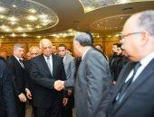 على عبد العال وأعضاء بالبرلمان يشاركون فى عزاء نائب رئيس حزب الحرية المصري
