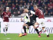 شوط أول سلبى بين ميلان ضد يوفنتوس فى نصف نهائي كأس إيطاليا