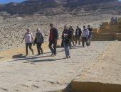 صور.. المناطق الأثرية بمحافظة المنيا تستقبل وفدا سياحيا من ألمانيا